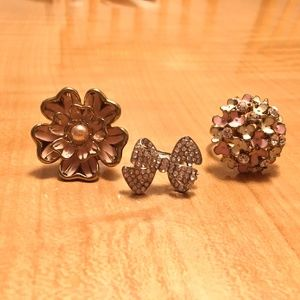 ⭐️2/$20 Costume Cocktail Rings
